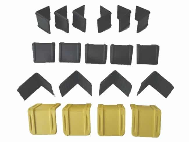 Aksesuar olarak kullanılan EYM A120 Plastik Köşebentler toka ve diğer ürünler ile birlikte kullanılarak kolilerin zarar görmesini engeller.teknik,istoç uygun fiyatl